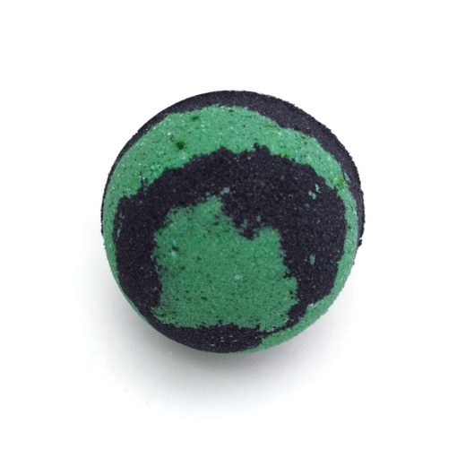 Front view of bath bomb