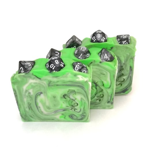 Group of three Dungeon Master soap