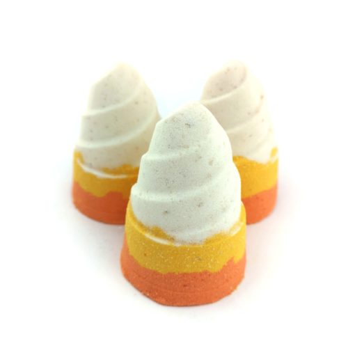Group of Candy Corn bath bombs