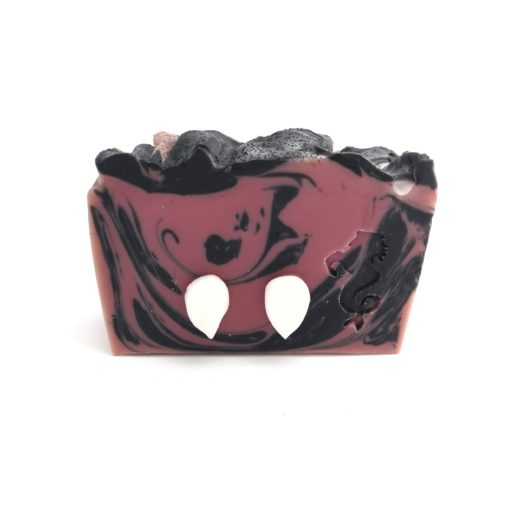 Vampire soap from front